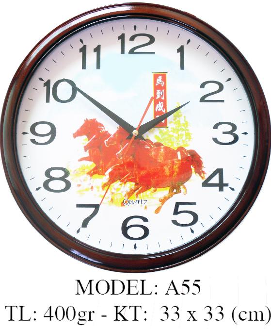 Đồng hồ treo tường A55