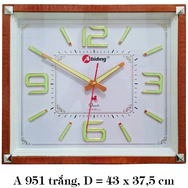 Đồng hồ treo tường A951