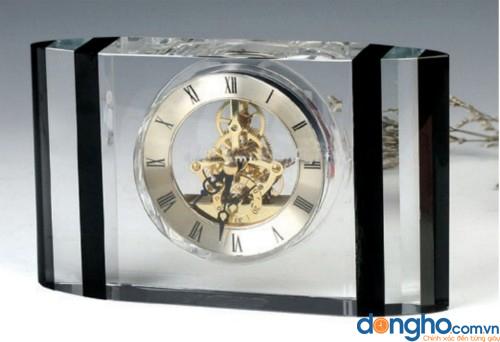 Đồng hồ để bàn pha lê 13