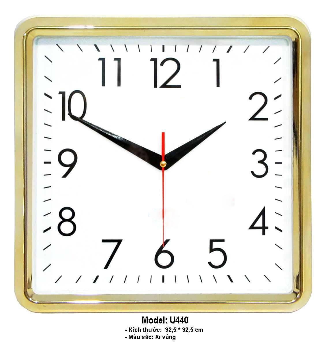 Đồng hồ treo tường U440