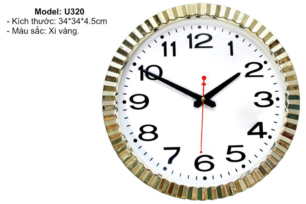Đồng hồ treo tường U320