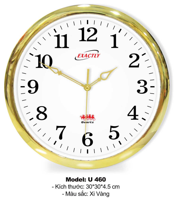 Đồng hồ treo tường U460