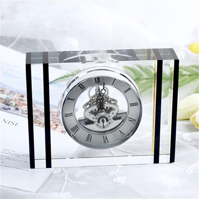Đồng hồ để bàn pha lê 16