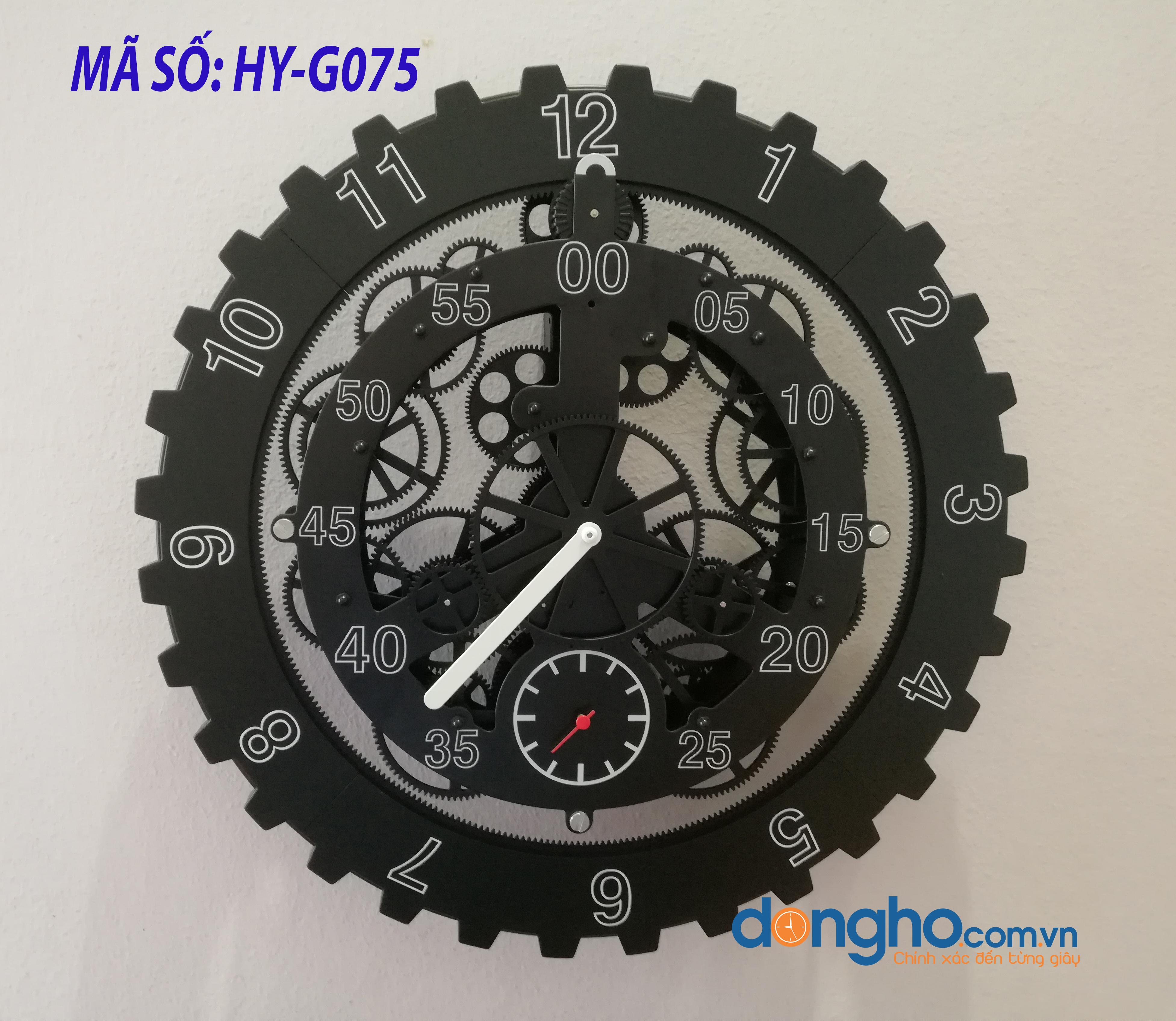Đồng hồ treo tường Gear