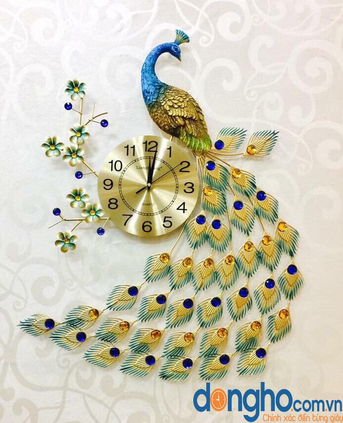 Đồng hồ chim công ĐH68